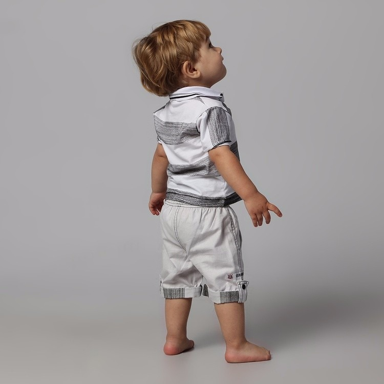 9aa3cc6d40a55 Conjunto Corinthians Infantil Camisa Polo + Bermuda Oficial - R$ 132 ...