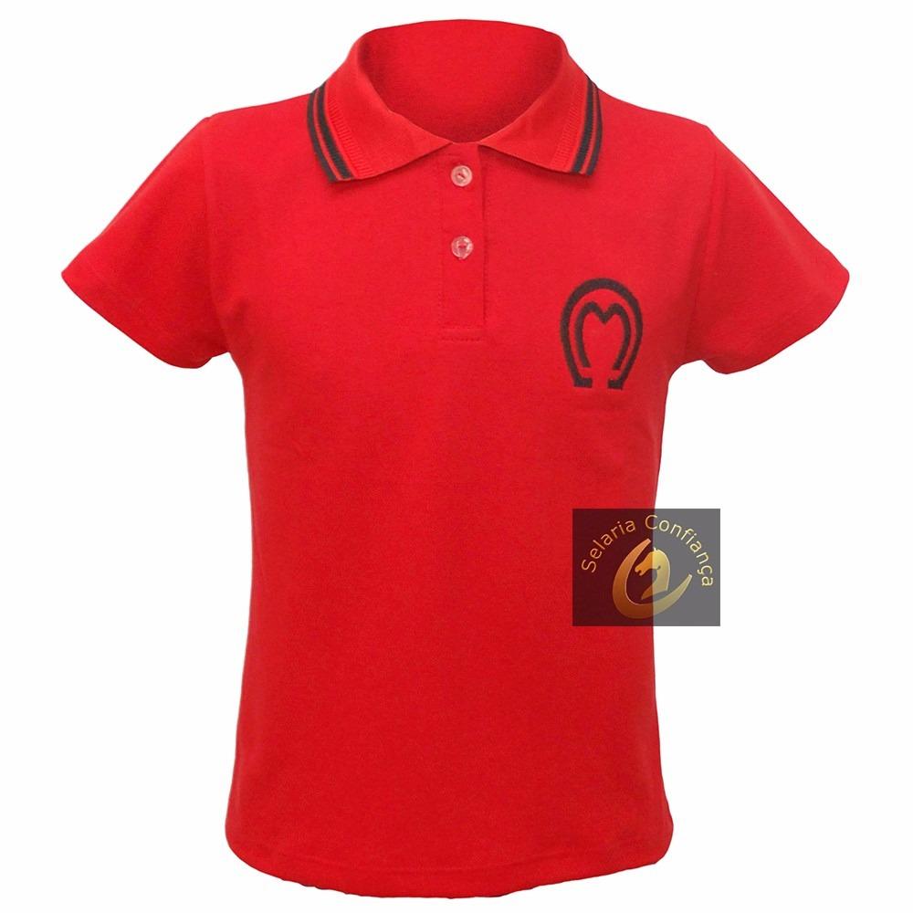 Conjunto Country Colete E Camisa Polo Feminina Mangalarga - R  228 ... 4ec73d96235