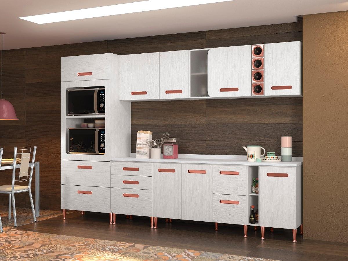 Conjunto Cozinha Completa 4 Balc Es 4 A Reos Kit Fornos E R