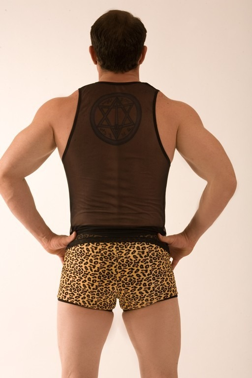 345a4134f04b60 Conjunto Cueca Boxer + Camiseta Sensual Estampada
