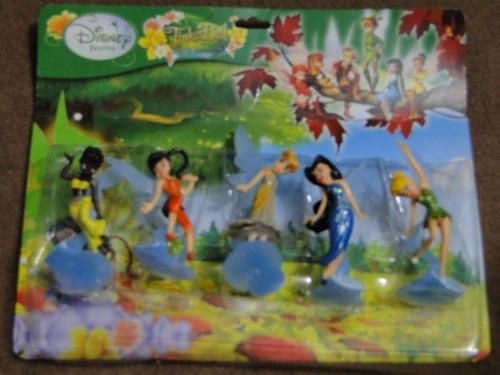 conjunto de 05 bonecas tinker bell sininho fadinhas fadas