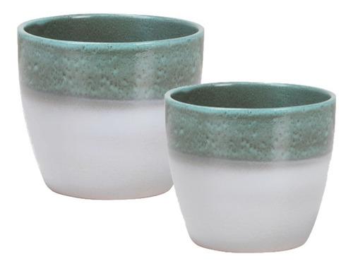 conjunto de 2 vaso cachepô para suculentas suspensas, cactos