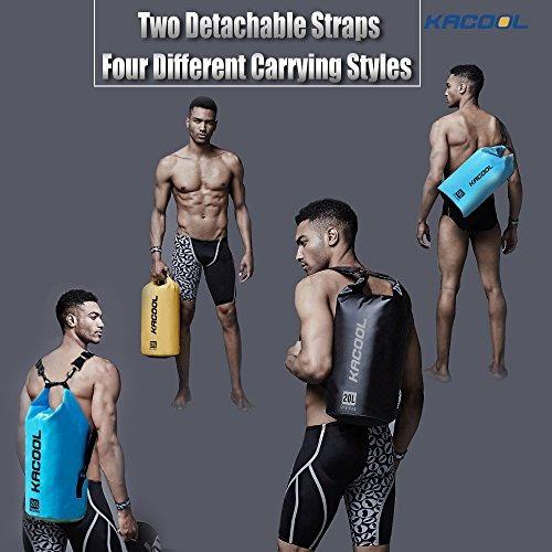 conjunto de 3 bolsas impermeables a prueba de agua por kacoo