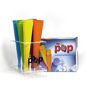 conjunto de 6 moldes de silicona pop hielo maker con el sopo