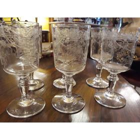 Conjunto De 6 Taças Para Vinho Cristal Saint Louis