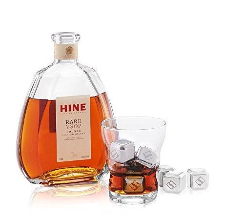conjunto de 8 piedras del whisky - plus 1 chilling palillo