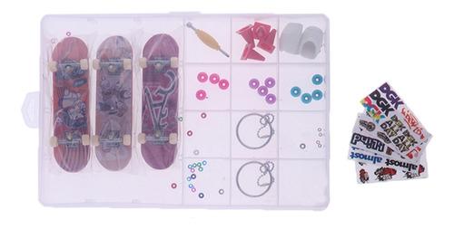 conjunto de 9 mini diapasones de patrones aleatorios,