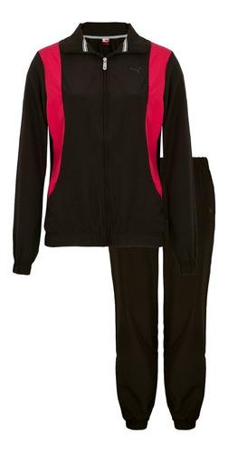 conjunto de agasalho puma ess woven suit