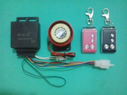 conjunto de alarme para bicicleta elétrica 48 volts