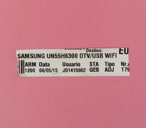 conjunto de barra led tv samsung un55h6300