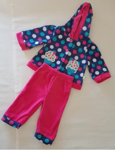 conjunto de bebe. buzo y pantalón de nena. día del niño