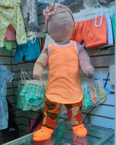 conjunto de bebé con leggins