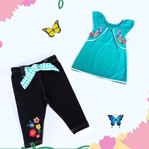 conjunto de bebé / leggins / blusa