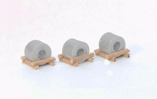 conjunto de bobinas 3 peças - perez ferromodelismo
