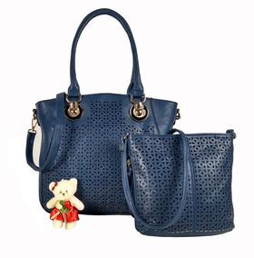 7e60ea99d Bolsa Lindas Importadas - Bolsas Femininas Azul marinho no Mercado ...