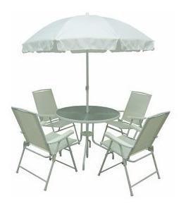 conjunto de cadeiras malibu bege mesa + gda sol + 4 cadeiras