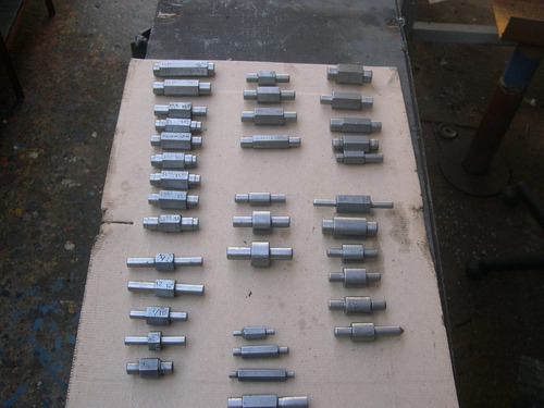conjunto  de calibres  pasa no pasa  para torneria