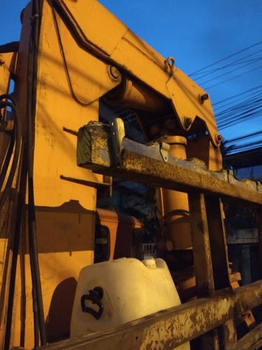 conjunto de caminhão munck de 40 ton
