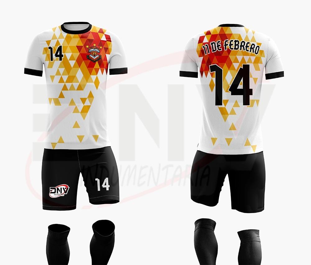 conjunto de camiseta fútbol personalisada sublimada y short. Cargando zoom. f34759d15c30f