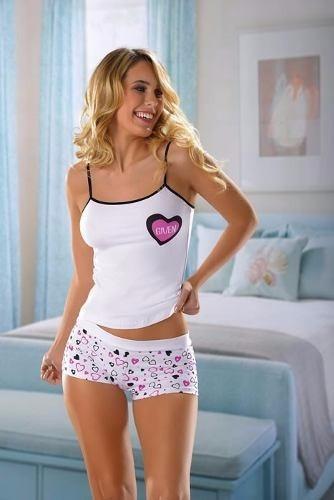 conjunto  de camiseta y short  algodon lycra .talles 1,2y3 .