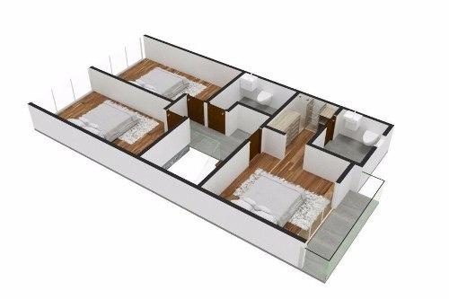 conjunto de casas - san pedro cholula