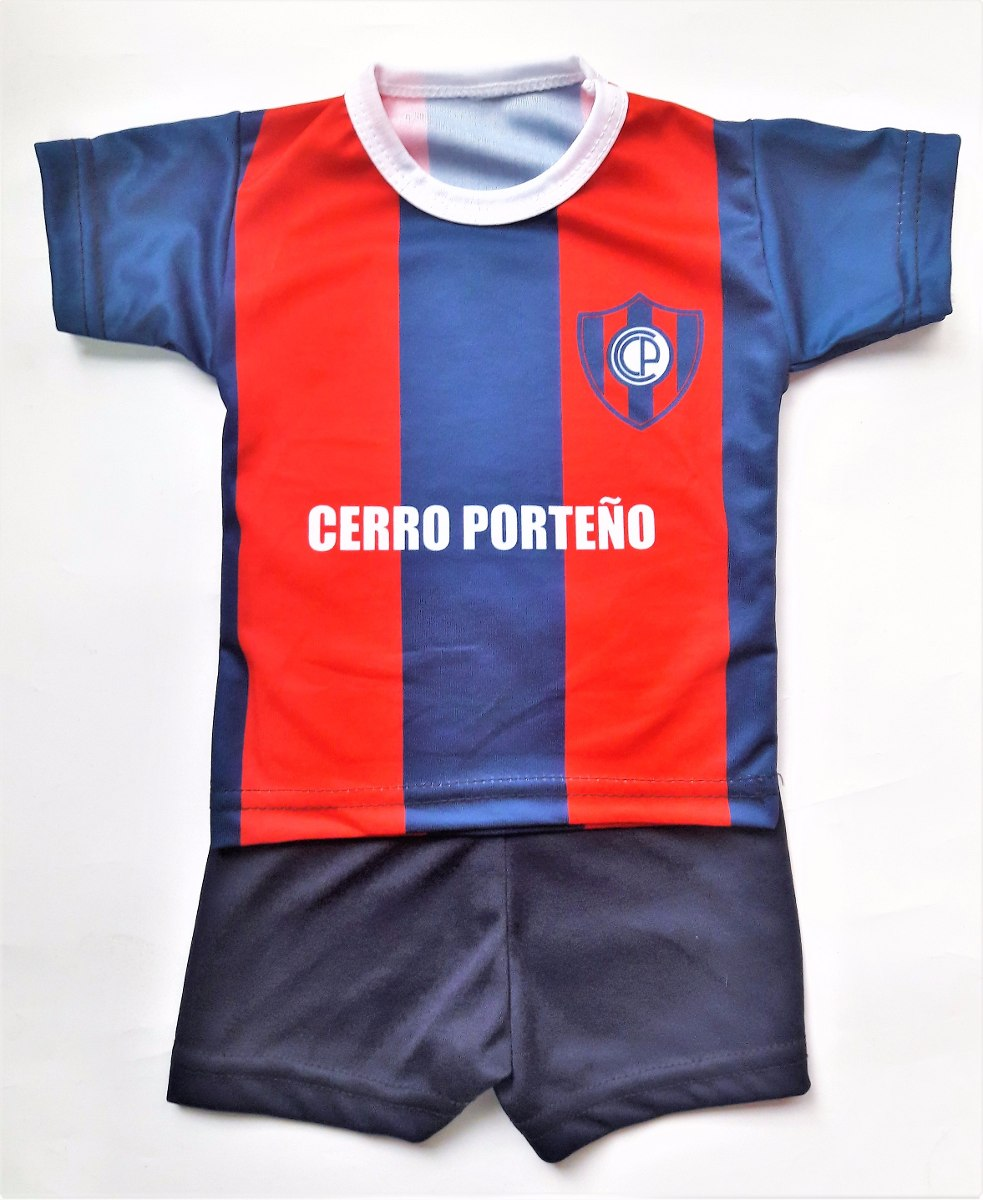 conjunto de cerro porteño camiseta y short futbol paraguay. Cargando zoom. c82b52fd71a