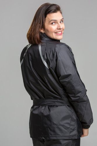 conjunto de chuva california racing feminino