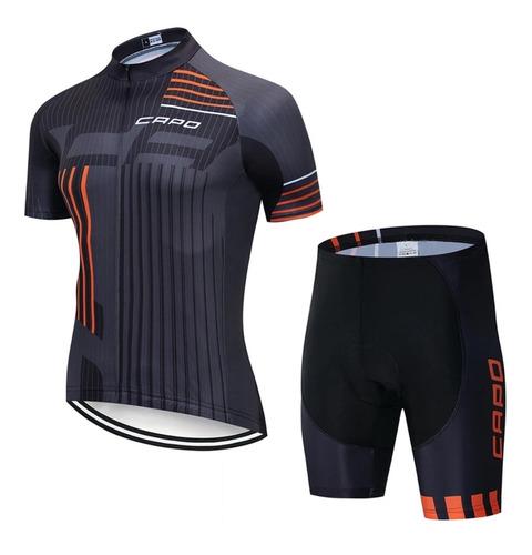 conjunto de ciclismo capo 2019 (talle xl)