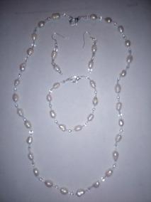 b98da363a1bf Joyas Collar Con Perlas De Rio en Mercado Libre México