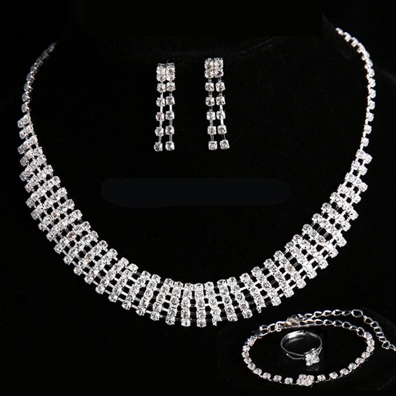 be3fdd268932 Conjunto De Collar Aros Y