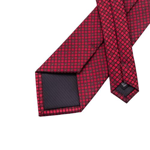conjunto de corbata con lazo tejido de seda jacquard en colo