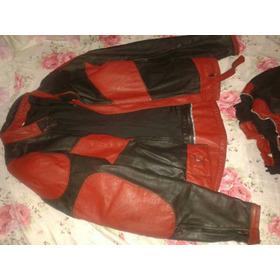 Conjunto De Couro Para Motociclistas
