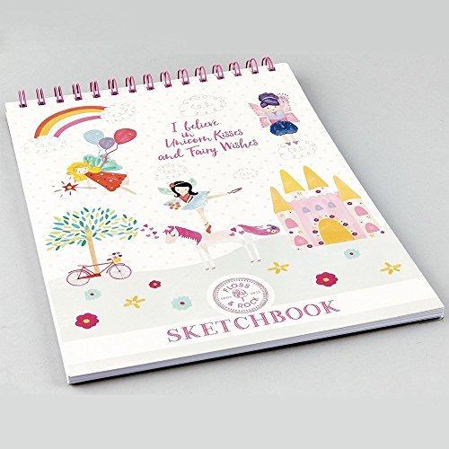 Conjunto De Dibujo Y Lápices De Colores Unicornio Con Hada