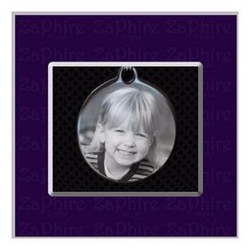 Conjunto De Dije Foto Medalla Y Cadena En Acero Quirúrgico