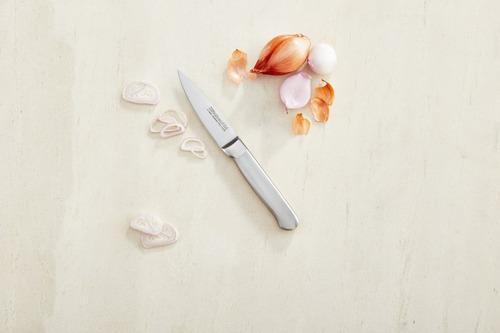 conjunto de facas em aço inox classic 12 peças