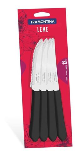 conjunto de facas para churrasco 12 peças tramontina