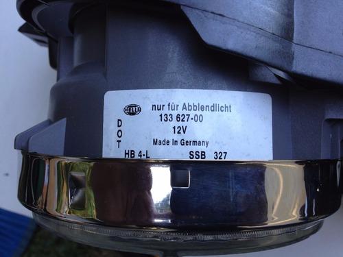 conjunto de faros bmw 525 e32/e34 (lado conductor)