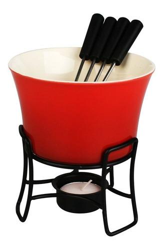 conjunto de fondue zermatt até 4 pessoas cjfn haüskraft
