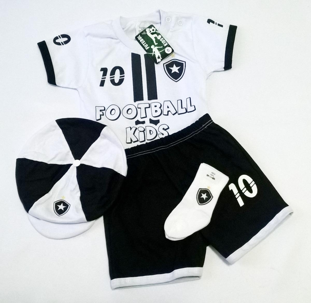 8f1216bdba conjunto de futebol para bebês do botafogo. Carregando zoom.