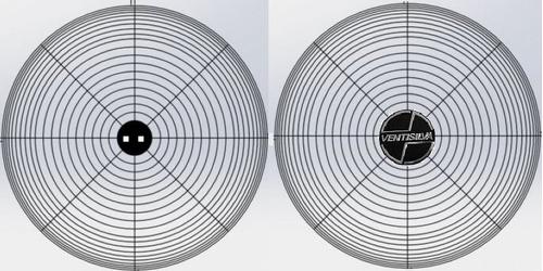 conjunto de grades do ventilador ventisilva