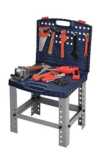 conjunto de herramientas de juguete workbench para niños pe