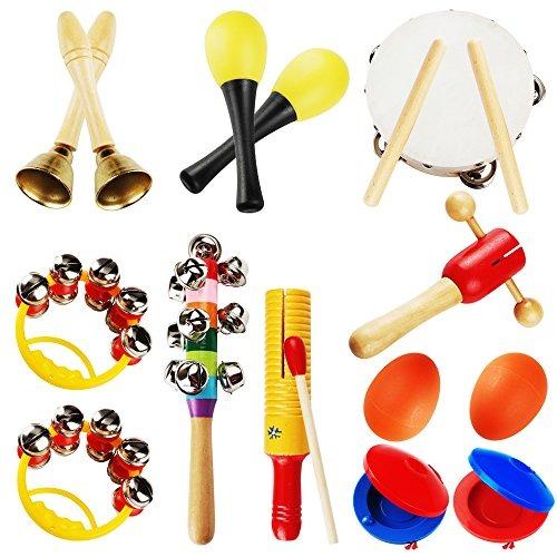 Conjunto de instrumentos musicales para ni os supow en mercado libre - Instrumentos musicales leganes ...