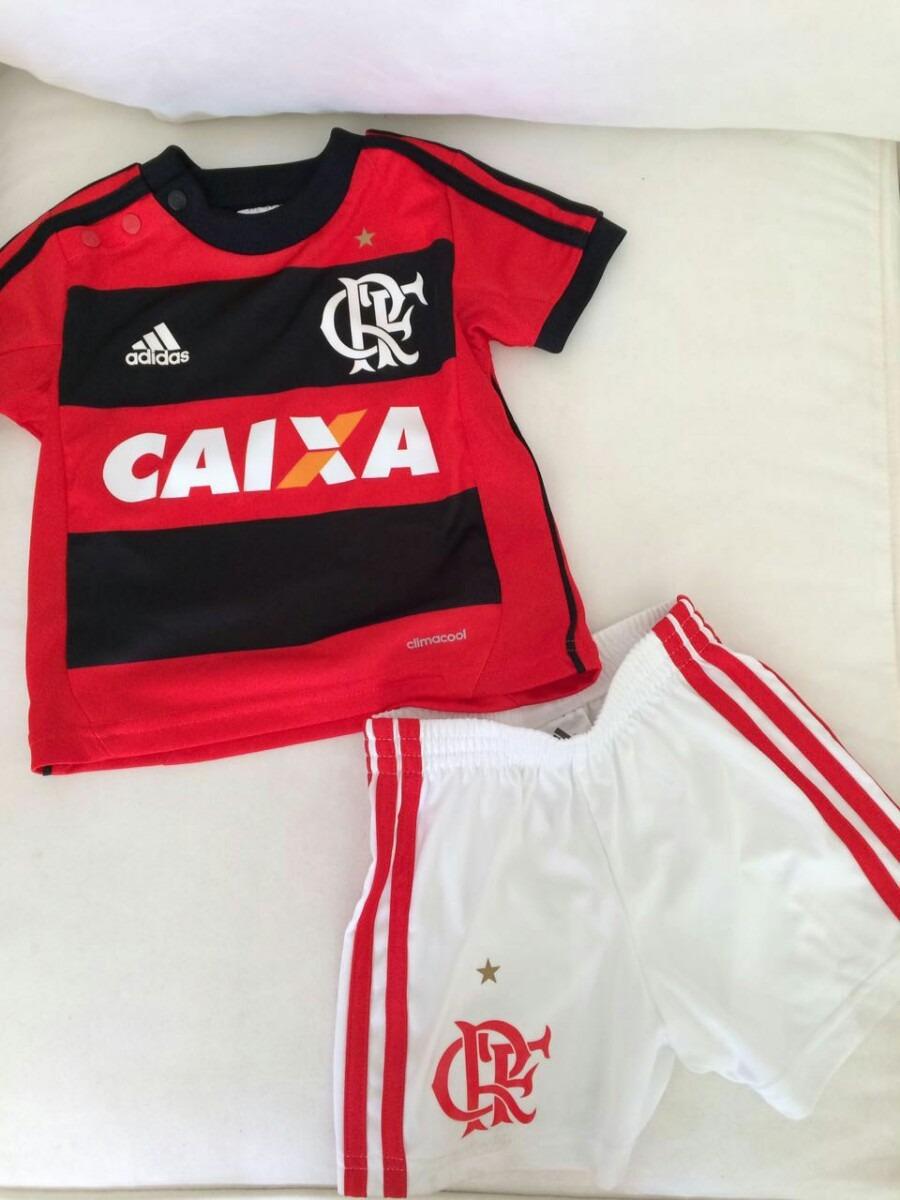 conjunto de jogo camisa e short infantil oficial do flamengo. Carregando  zoom. b8af476ea6890