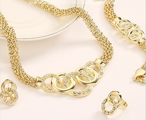 conjunto de jóias africanas