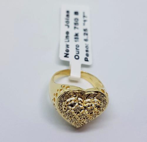 conjunto de joias em ouro 18k 750 rica brilhantes verdadeiro