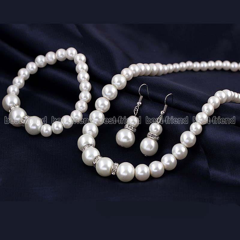26b6fdd04c5 conjunto de joias pérolas elegante. Carregando zoom.