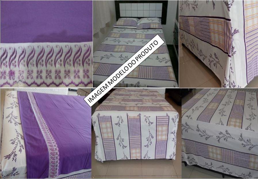 2463e19d73 Conjunto De Lençol P  Cama Box Tamanho King Size - 4 Peças - R  100 ...