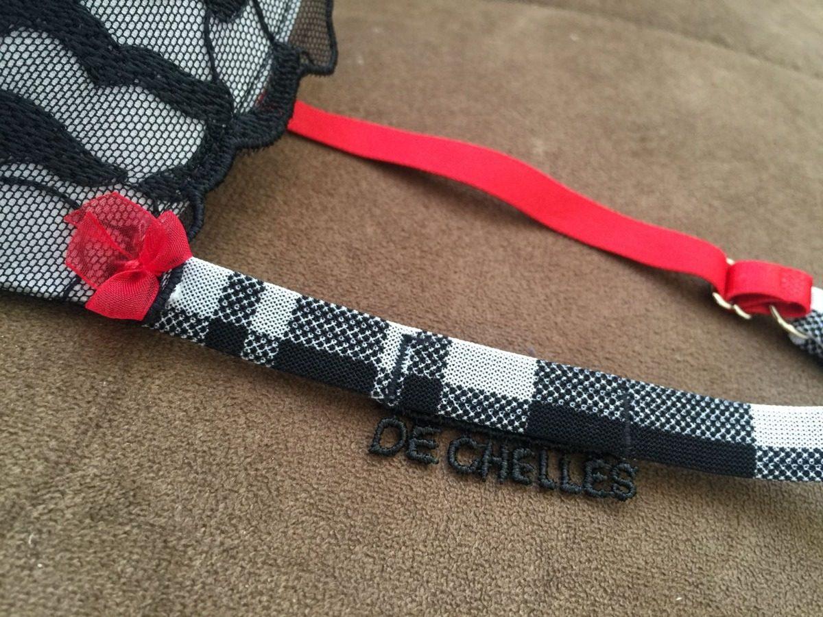 28848ec1f conjunto de lingerie de chelles xadrez calcinha fio duplo. Carregando zoom.