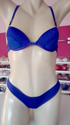 conjunto de lingerie kit com 24 conj. ótimo preço 12,98 un.