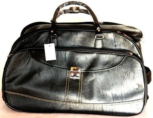 conjunto de mala grande de viagem com rodinhas e bolsa média